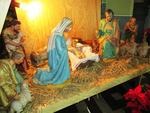 Beeldengroep kerststal