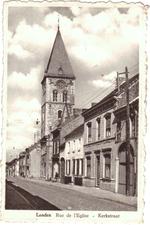 Landen. Rue de l'Eglise - Kerkstraat