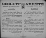 Hasselt, affiche van 20 november 1918 - vrijgave handel in melk en melkproducten; inbeslagname hoeveelheid melk voor jonge kinderen, zieken en ouderlingen.