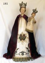 O.L.V. met kind Jezus op linker arm