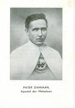 Bidprent Pater Damiaan, Apostel der Melaatsen.