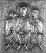Jezus tussen Emmaüsgangers