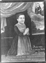 votiefportret van Anna Maria Capellen