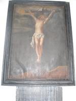 Jesus sterft aan het kruis