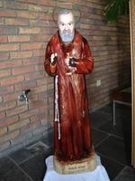 Beeld van heilige pater Pio