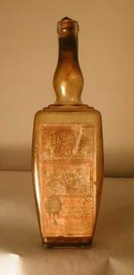 Fles 'Elixir de Cuba' voor Theunis-Deryke, Enghien, ca. 1910-1940
