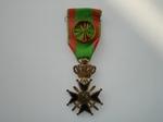 medaille: Militair Kruis 1ste klas