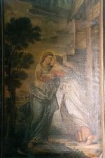 Omhelzing van Maria door Elisabeth
