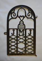 IJzeren hek van de oude Steenputkapel te Dworp