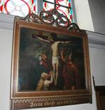 Jesus sterft aen het kruis