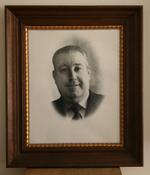 Michel Wouters, burgemeester van Dworp van 1965 tot 1976.