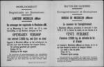 Mechelen a/d Maas, affiche (van juni 1919) - openbare verkoop van oorlogsbuit.