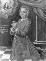 votiefportret van Lambertus de Wolff