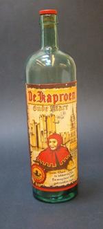 Fles 'De Kaproen, Oude Klare' voor Rubbens, Zele, ca. 1940-1950