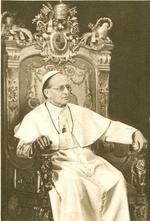Bidprent Paus Pius XI.