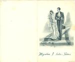 Menukaart huwelijk Yvonne - Karel