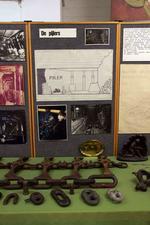 Pijler met schaaf en pantser