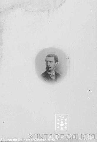 Retrato: home con lazo
