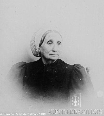 Retrato: muller con cofia