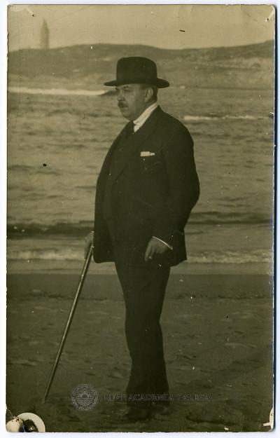 Don Pedro Izquierdo Corral, esposo de doña Gala