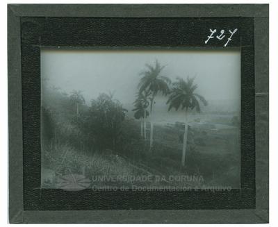 Paisaje del Valle de Juniri (Cuba)