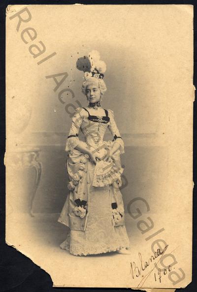 Blanca, 1900