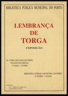 Lembrança de Torga : exposição
