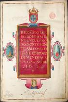 Rezão do Estado do Brasil no Governo do Norte somete asi como o teve dõ Diogo de Meneses até o anno de 1612