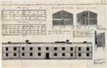 Desenhos do edificio, em projecto, para quartel dos officiaes de hum Batalhão de Caçadores: em additamento ao projecto, datádo em 5 do corrente, para alojar, em quartel permanente, o mesmo Batalhão, em Miranda do Douro