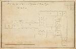 Planta do quartel do Regimento d'Infanteria nº 14 em Vizeu: andar terreo