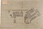Planta do aquartelamento e outros edifícios contidos no perimetro do Castello de S. João Baptista da Ilha Terceira: Fig.ª 2.ª