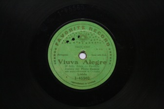 Arieta do Pavilhão - 2º Acto [da opereta] Viúva Alegre