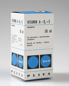 Pliva Vitamin A + D3 + E