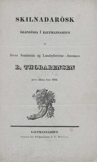 Skilnaðarósk Íslendinga