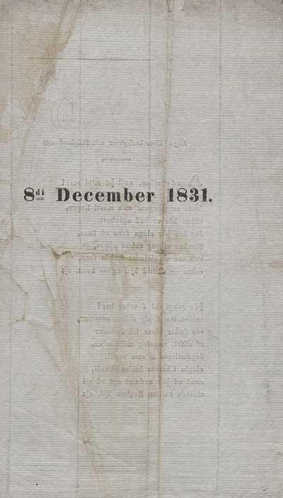 8. desember 1831