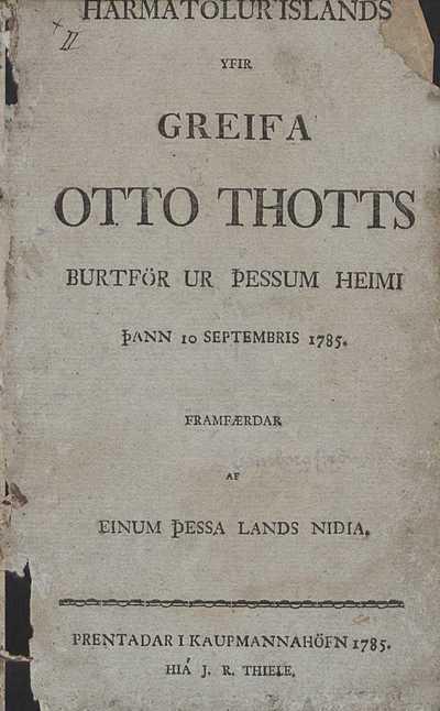 Harmatölur Íslands