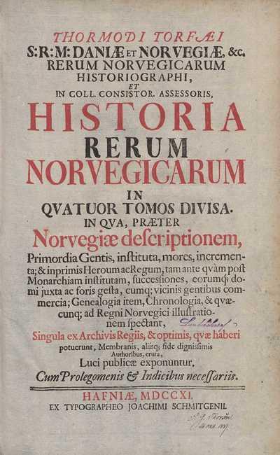 Historia rerum Norvegicarum