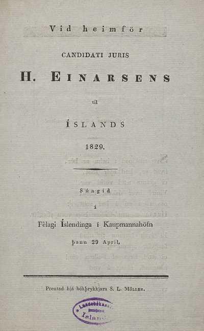 Við heimför