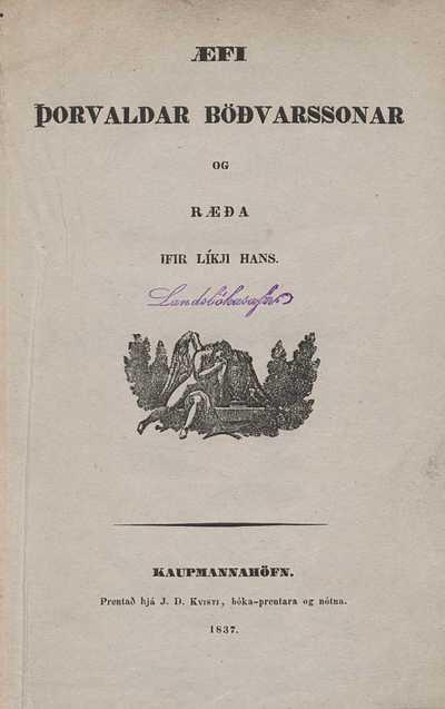 Ævi Þorvaldar Böðvarssonar
