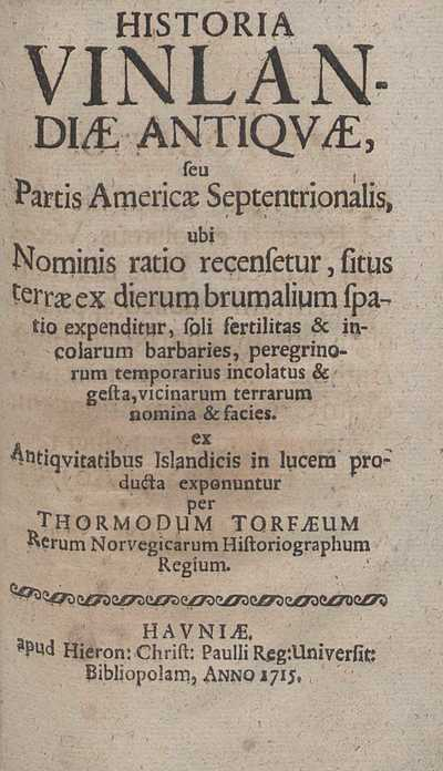Historia Vinlandiæ antiquæ