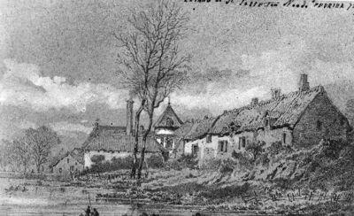 L'étang de Saint-Josse-ten-Noode et château des Deux-Tours