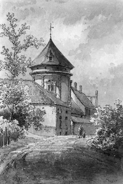Château des Deux-Tours à Saint-Josse-ten-Noode