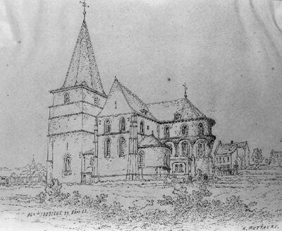 Eglise Saint-Médard à Jodoigne