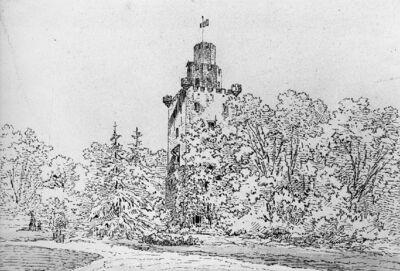 Château de Bierbais à Hévillers