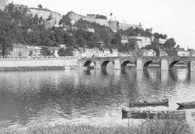 Le Pont de Jambes, dit aussi Pont de Meuse