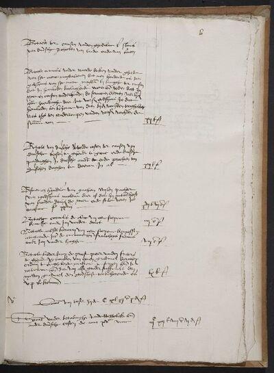Archief Magdalenaleprozerie, Register 87, Rekeningen 1506