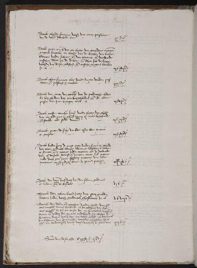 Archief Magdalenaleprozerie, Register 87, Rekeningen 1504