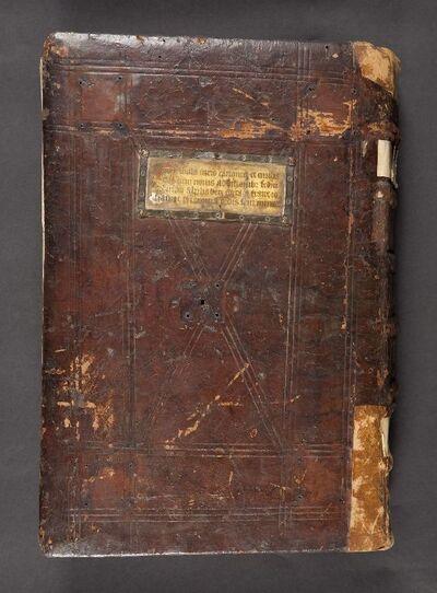 van Ms. 46/57: Tabula juris canonici et civilis; Johannes de Saxiona
