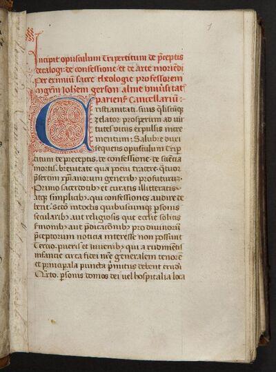 Traktaten van Johannes Gerson en Petrus de Alliaco