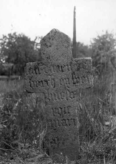 grafkruis Jan van Danen en echtgenote Maria